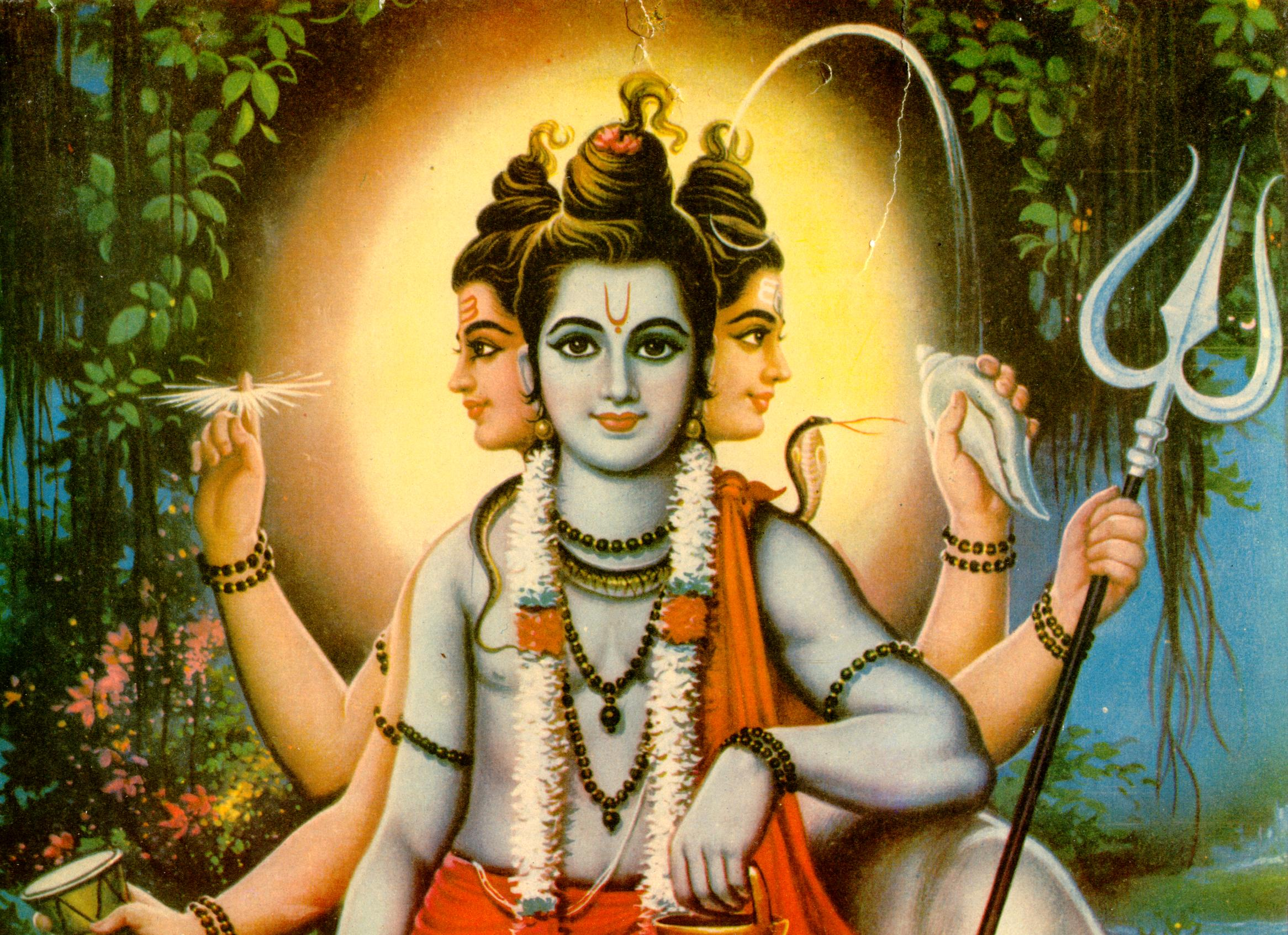 Lord Dattatreya Wallpapers Trinity Pictures